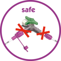 Nutrisafe2, a safe enteral feeding system compliant with ISO 80369-1