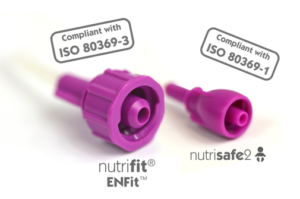 Nutrifit (an ENFit range)and Nutrisafe2, the Vygon's safety enteral feeding systems compliant with ISO 80369